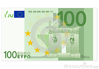 Hundred Euro Banknote Royalty Free Stock Images Image 29696209