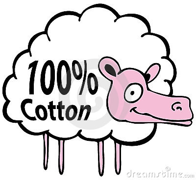 Hundred Percent Cotton Sheep