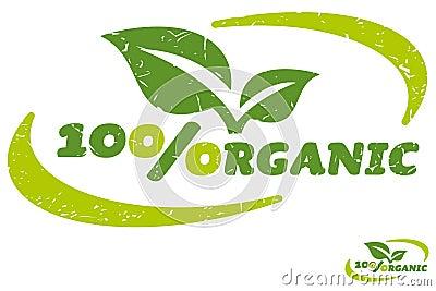 Hundred Percent Organic Label