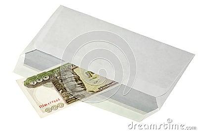 Hundred riels bill of Cambodia