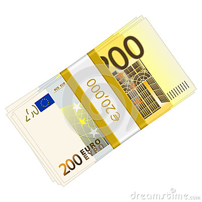 Two hundred euro pack