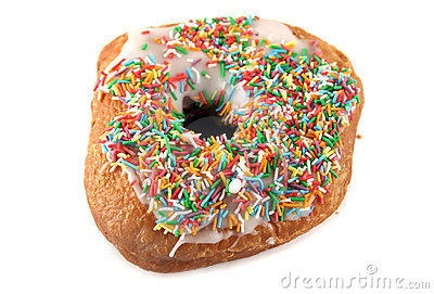 Hundreds Thousands Doughnut