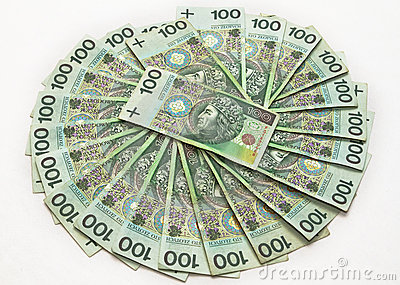 Hundreds of zloty