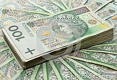 Hundreds of zloty