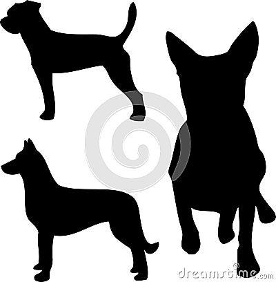 Hundsilhouettes