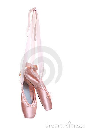 Free Hung Ballet Shoes Stock Photography - 14471872