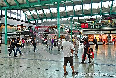 Hung hom train station, hong kong Editorial Photography