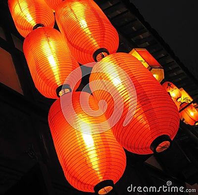 hung lantern