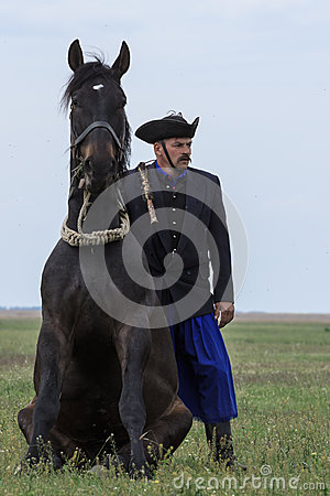 Hungarian Cowboys Editorial Stock Photo