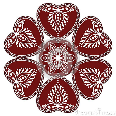 Hungarian folk ornament