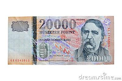 Hungarian Forint - HUF (20.000)
