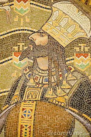Hungarian King mosaic