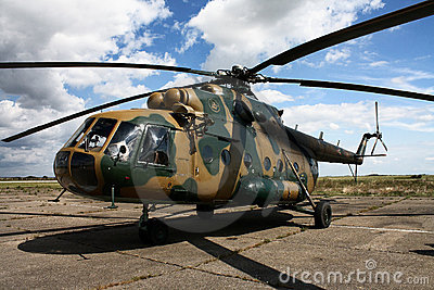 Hungarian Mi-17 Helicopter Editorial Image