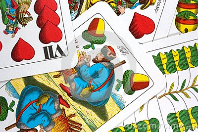 Hungarian playing cards