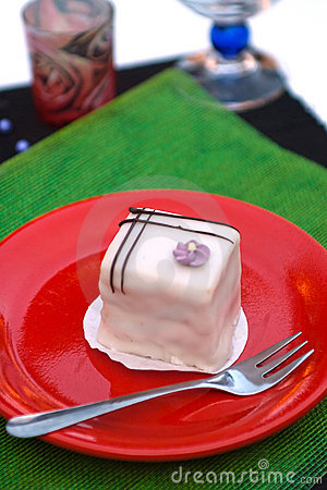 Hungarian raspberry dessert