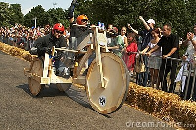 Hungarian Soap box race Editorial Image