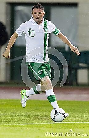 Hungary vs. Ireland friendly football game Editorial Photo