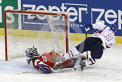 Hungary vs. Korea IIHF World Championship ice hockey match