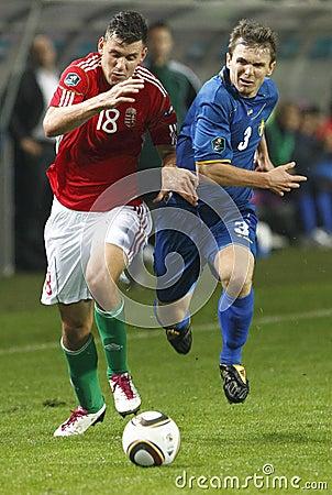 Hungary vs. Moldova UEFA Euro 2012 qualifying game Editorial Stock Photo