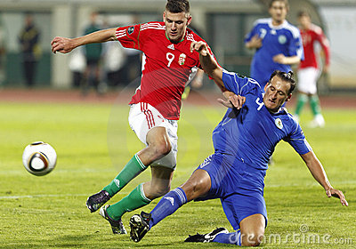 Hungary vs. San Marino 8-0 Editorial Stock Photo
