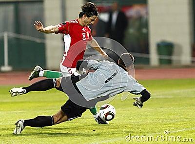 Hungary vs. San Marino 8-0 Editorial Stock Photo