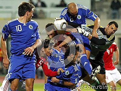 Hungary vs. San Marino 8-0 Editorial Photography