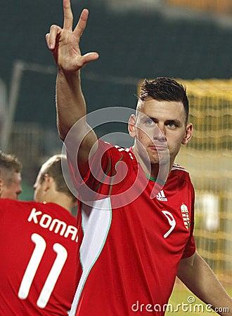 Hungary vs. San Marino 8-0 Editorial Image