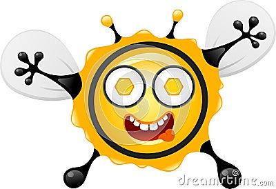 Hungry bee