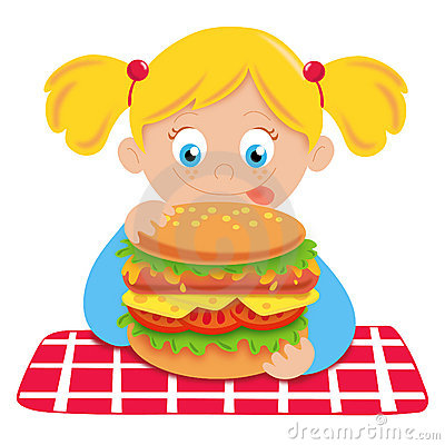 Hungry Child Royalty Free Stock Photography - Image: 22802597