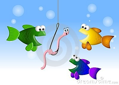 Hungry Fish and The Worm 2