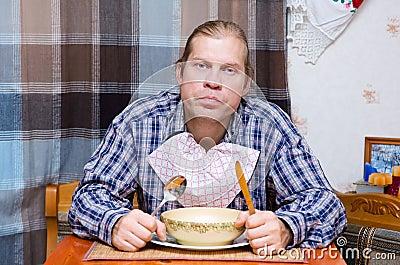 Hungry husband