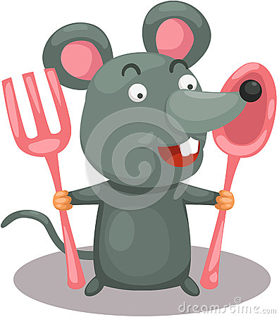Hungry mouse