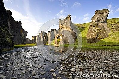 Hunkarbakkar Canyon
