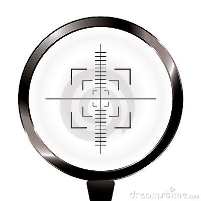 Hunt rifle target