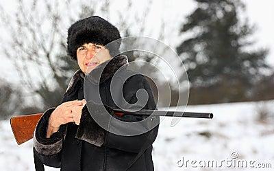 A hunter