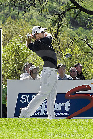 Hunter Mahan - 11th Tee - NGC2009 Editorial Stock Photo