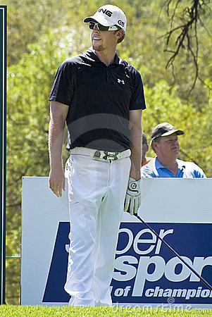 Hunter Mahan - 11th Tee - NGC2009 Editorial Stock Image