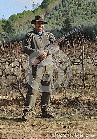 Hunter portrait