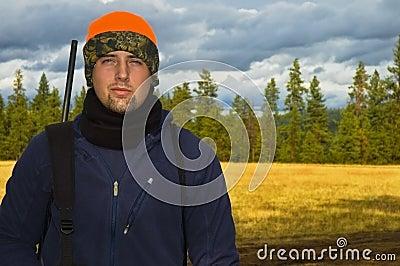 Hunter prepared to hunt