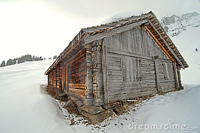A hunter s cabin