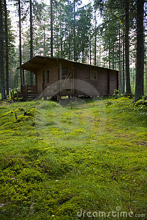 Free Hunter S Cabin Royalty Free Stock Image - 3526656