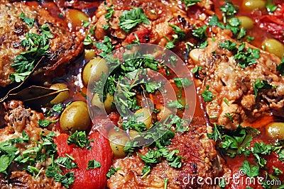 Hunter s chicken stew (pollo alla cacciatora)