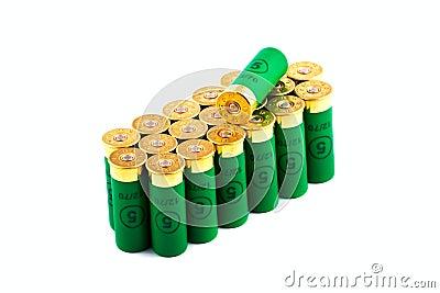 Hunting cartridges for shotgun