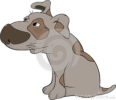 The Hunting Dog. Cartoon Royalty Free Stock Image - Image: 28354366