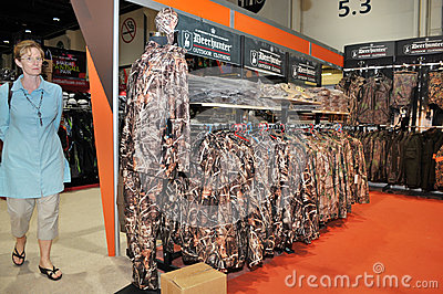 Hunting Dresses at Abu Dhabi International Hunting and Equestrian Exhibition 2013 Editorial Photo