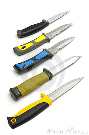 Free Hunting Knifes Royalty Free Stock Photography - 11664207