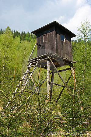 Hunting tower