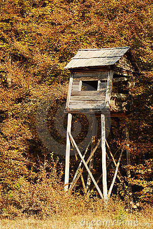 Free Hunting Tower Stock Image - 21923521