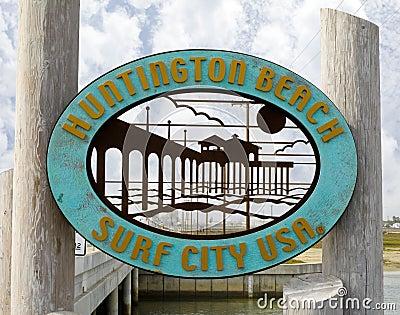 Huntington Beach Editorial Image