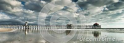 Huntington Beach Pier Panoramic